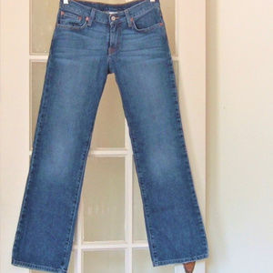 Lucky Brand Dungaree Classic Fit Jeans 27 …